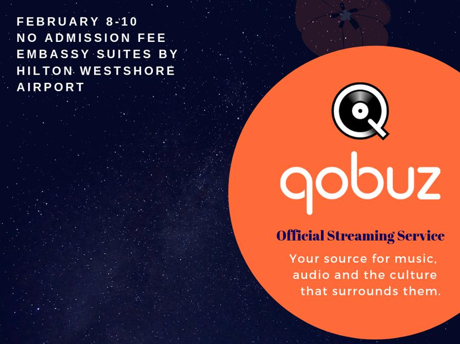 Qobuz Official Streaming Service of  Florida Audio Expo