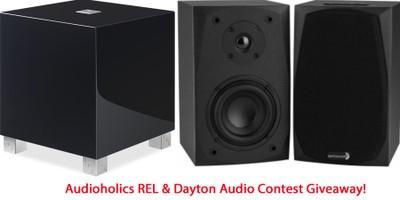 REL Acoustics Subwoofer and Dayton Audio Speaker Contest Giveaway!