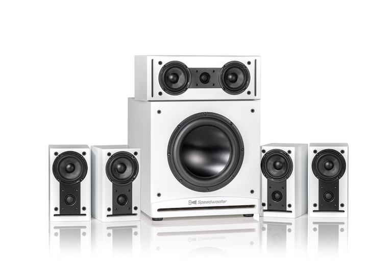 RSL CG3 5.1 System in White