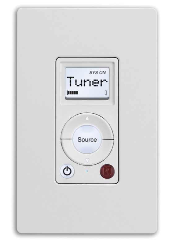 Russound+SLK+Single+Line+In-wall+Keypad