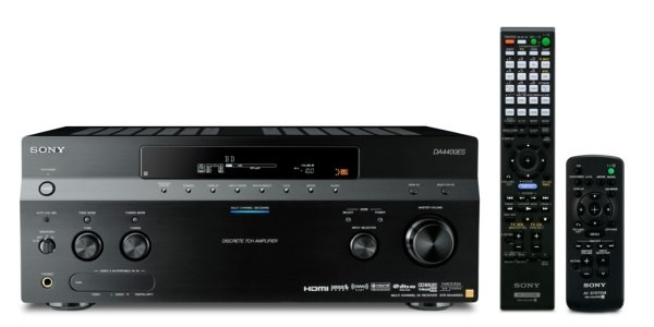 Sonys New ES Receivers - STR-DA4400ES Tops Line... So Far