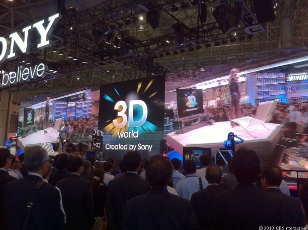 Sony+HD+3D+LED+Display+System+Shown+at+CEATEC
