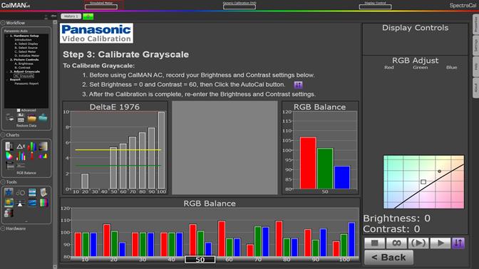 SpectraCal Announces Automatic Calibration of Panasonic
