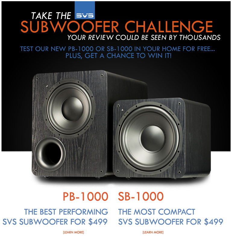 SVS+and+Audioholics+Partner+to+Let+YOU+Review+%28and+WIN%29+a+1000+Series+Subwoofer%21