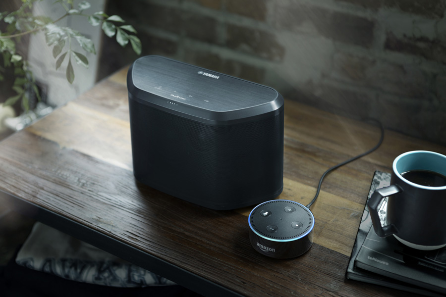Yamaha Adds Amazon Alexa with MusicCast Wireless Multiroom Audio to AV Products