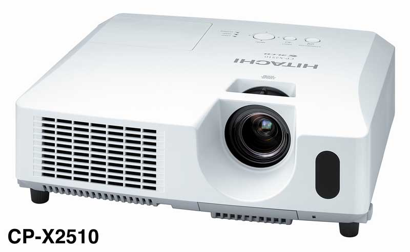 Hitachi+CP-X2510+3LCD+Projector+Review