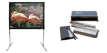 Elite Screens Quickstand Portable Projector Screen Review