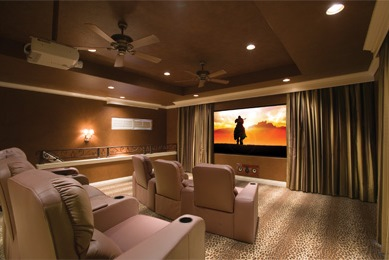 How To Install A Home Theater Projector And Screen From