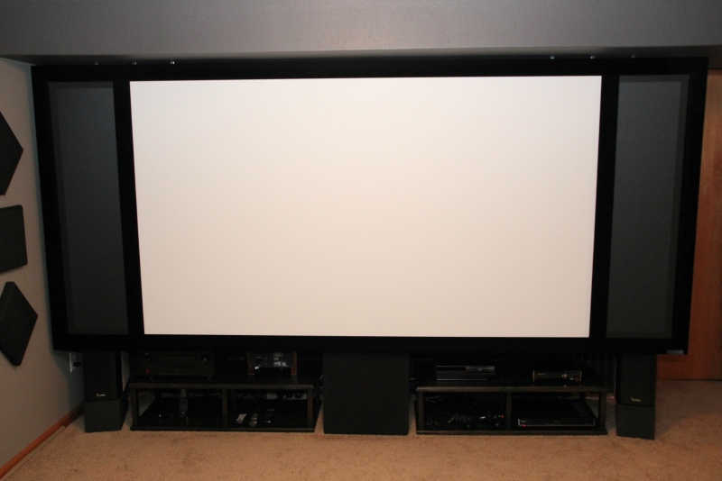 Seymour AV Fixed Frame AT Screen with AT Masking Panels Review ...
