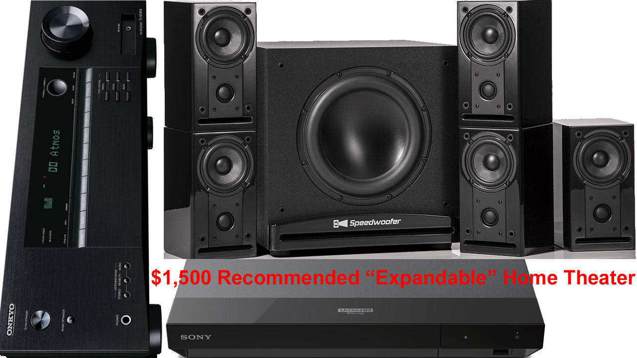 1 000 5 1 Channel Recommended Home Theater System