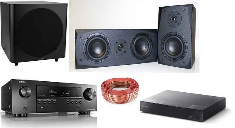 $750 5.1 Recommended Home Theater System