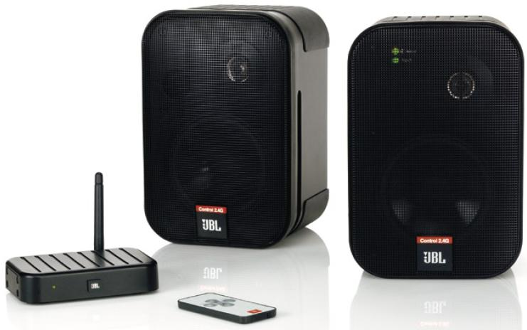 Jbl Control 2 4g Wireless Speakers Review Audioholics
