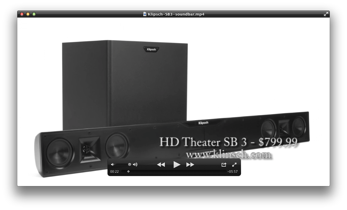 Klipsch Hd Theater Sb 3 Soundbar Review Audioholics
