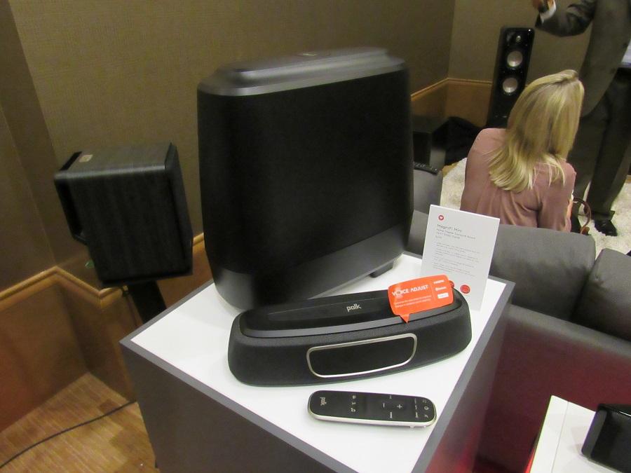 Polk Audio Magnifi Mini Sound Bar And Wireless Subwoofer