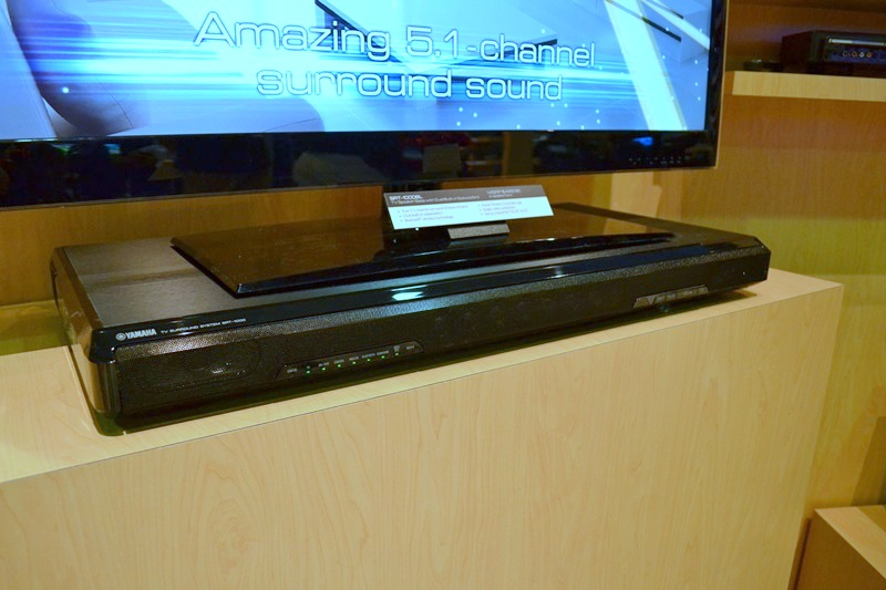 yamaha srt 1000 pedestal soundbar preview audioholics. Black Bedroom Furniture Sets. Home Design Ideas