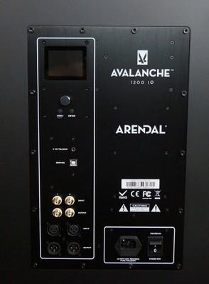 2V amp panel