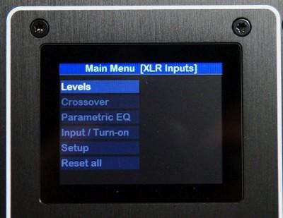 2V settings menu