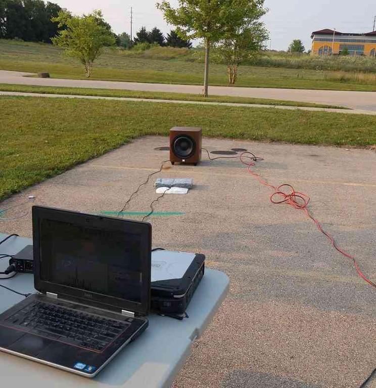 1200 outdoor testing