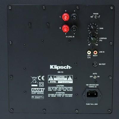 Klipsch SW-115 Subwoofer Preview | Audioholics
