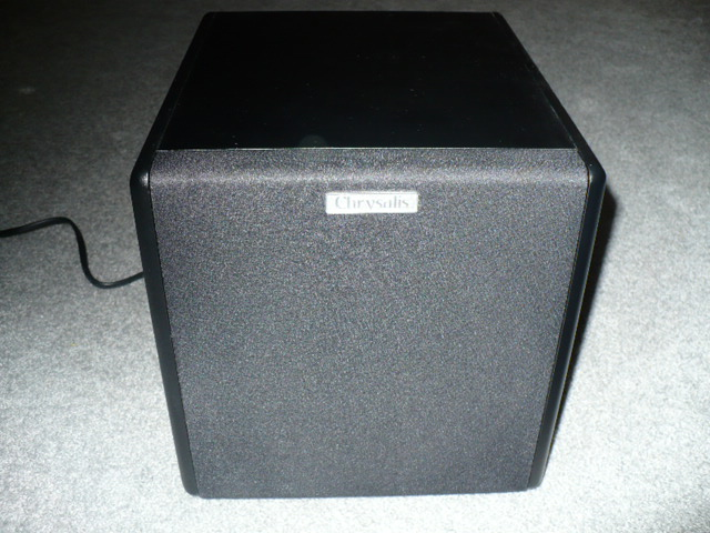 Chrysalis+Acoustics+Photon-8+Powered+Subwoofer+Review