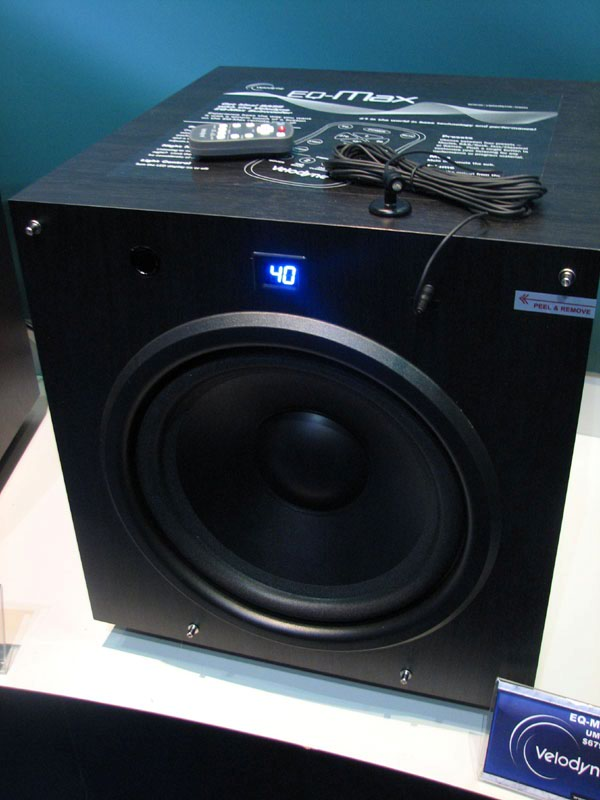Velodyne Eq Max Subwoofers Preview Audioholics