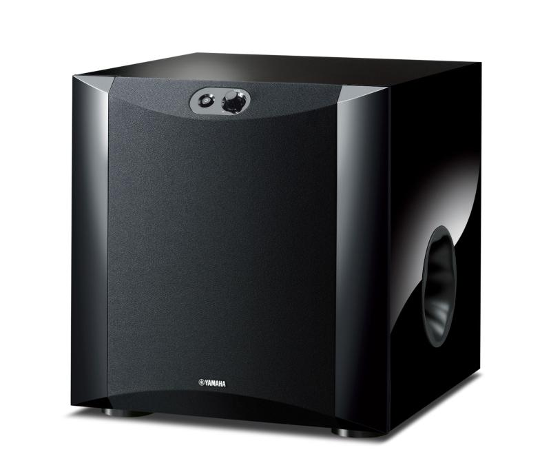 Yamaha Ns Sw300 Amp Ns Sw200 Subwoofer Preview Audioholics