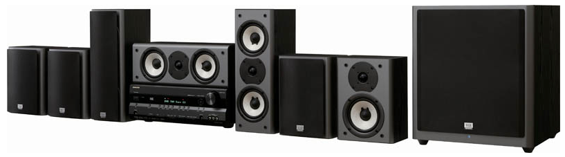 Executive home theater model 9100