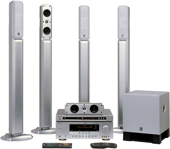 yamaha yht 685 home theater system review audioholics