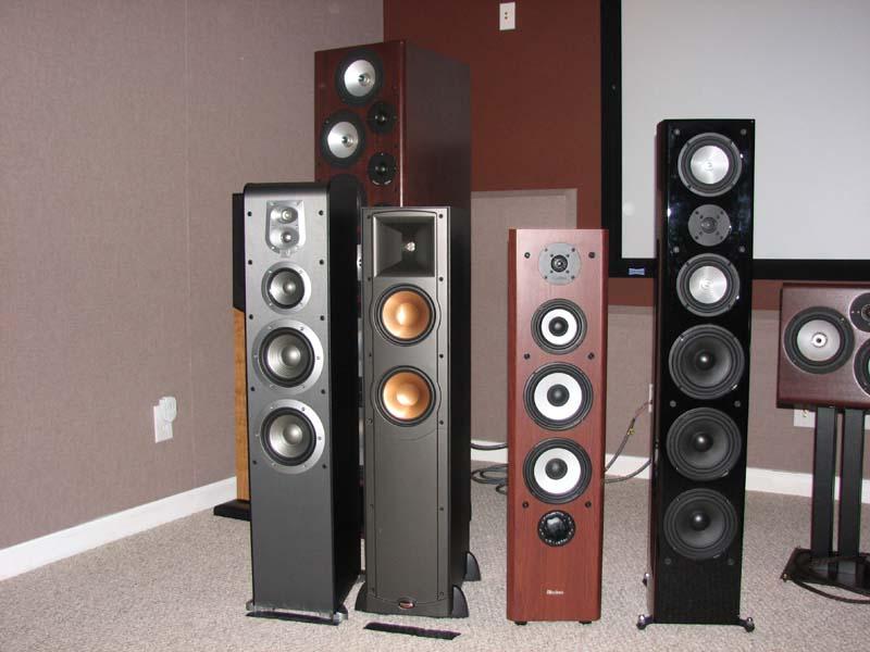 2010 Audioholics $1k Floorstanding Loudspeaker Faceoff | Audioholics