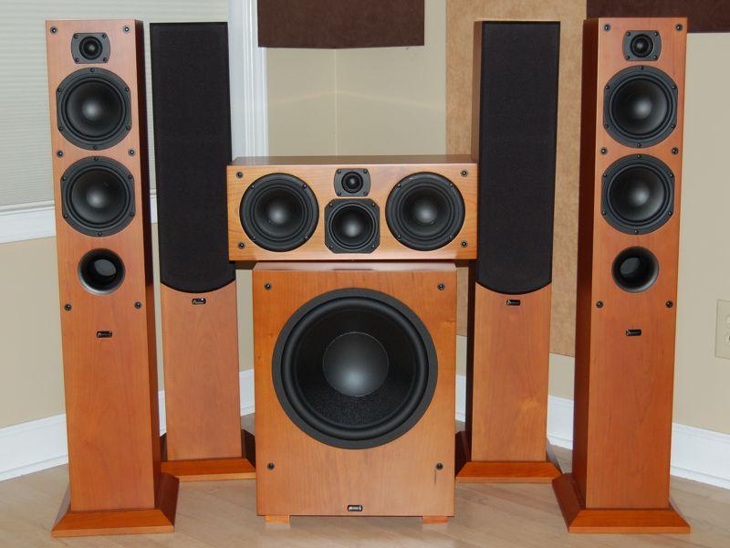 Aperion Intimus Concert 533HD Speakers Review | Audioholics