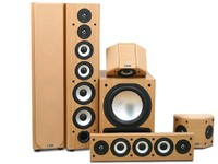 Axiom Audio Epic 80-350 in Mansfield Beech