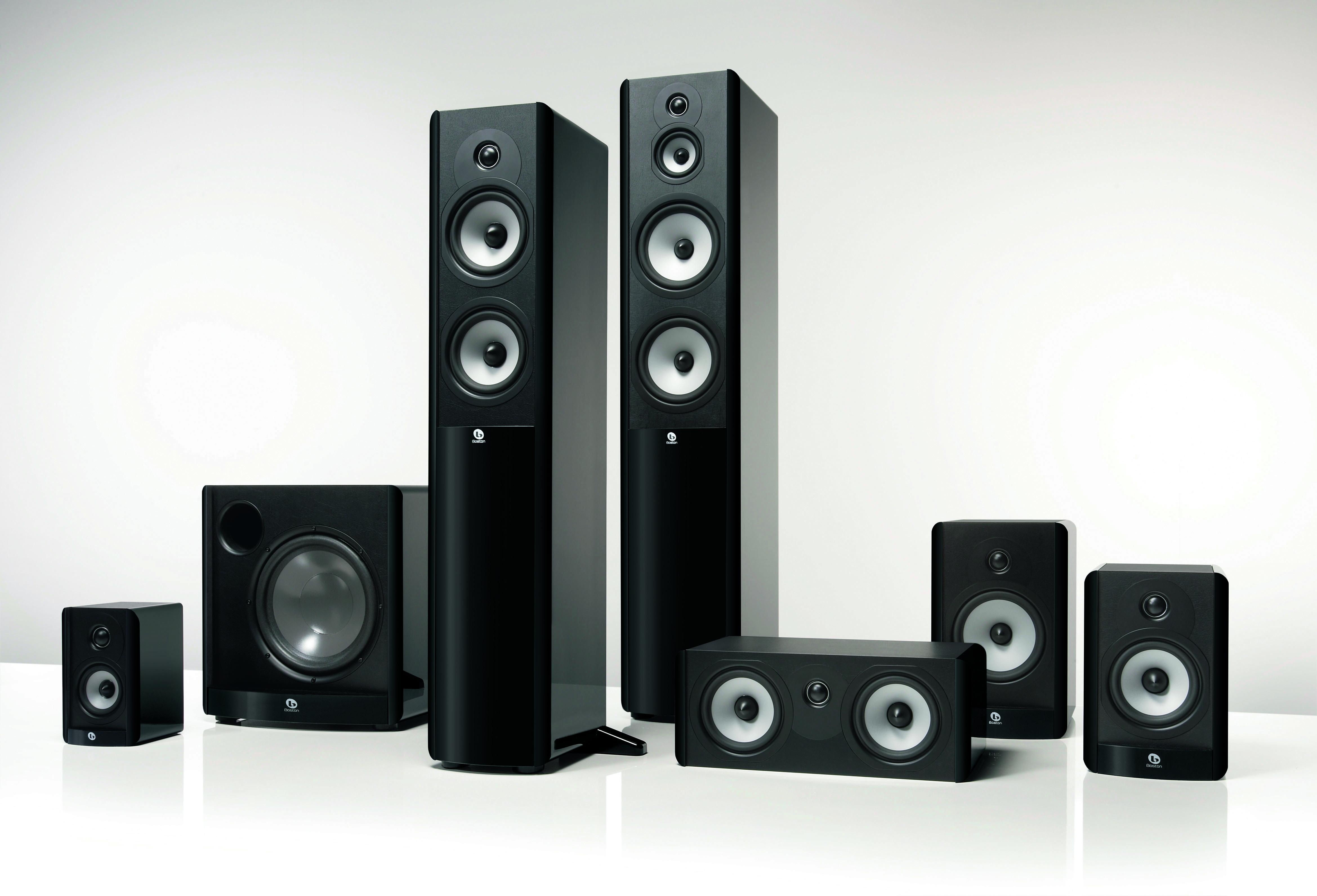 boston acoustics a series loudspeakers first look audioholics. Black Bedroom Furniture Sets. Home Design Ideas