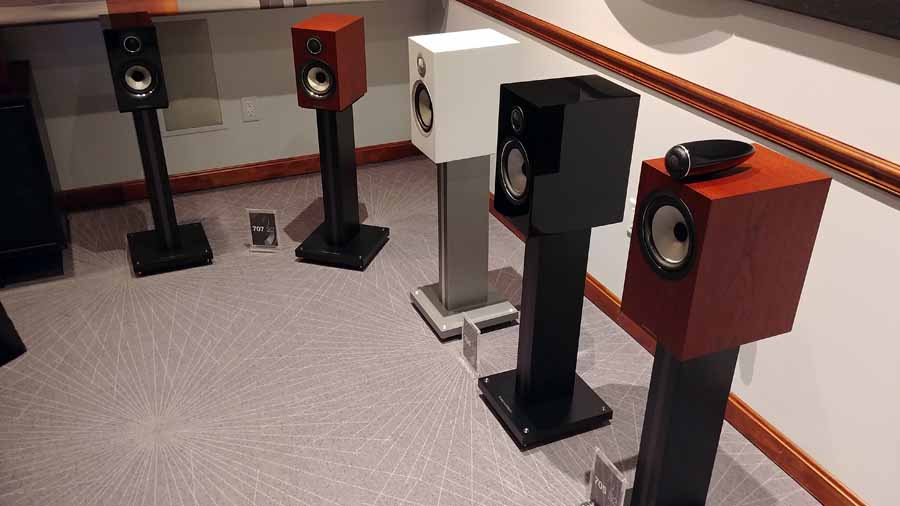 BW 700 S2 Bookshelf Speakers