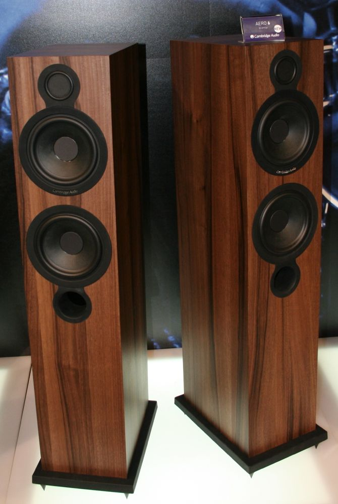 Cambridge Audio Aero 6 Loudspeakers Preview Audioholics