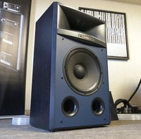 jbl 4367. while technically speaking the jbl 4367 is an extremely modern speaker, it does aesthetically resemble wide-baffle vinta jbl