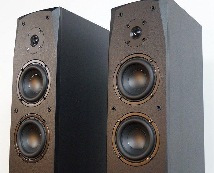 Dayton Audio MK442T Transmission Line Tower Speaker Review   Audioholics