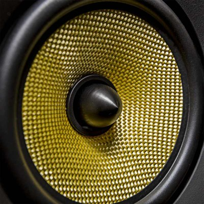 speakers yellow. fluance signature mid driver speakers yellow