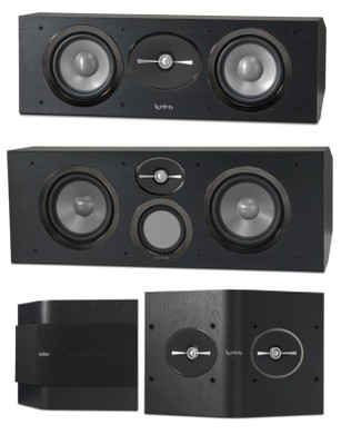 infinity home speakers. infinity reference center \u0026 surround speakers home