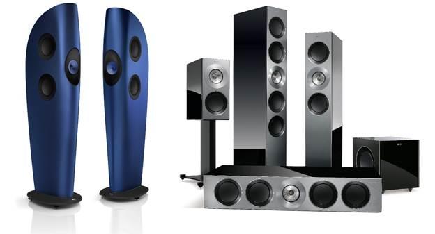 KEF Reference Series and Blade Two Floorstanding Speaker ...
