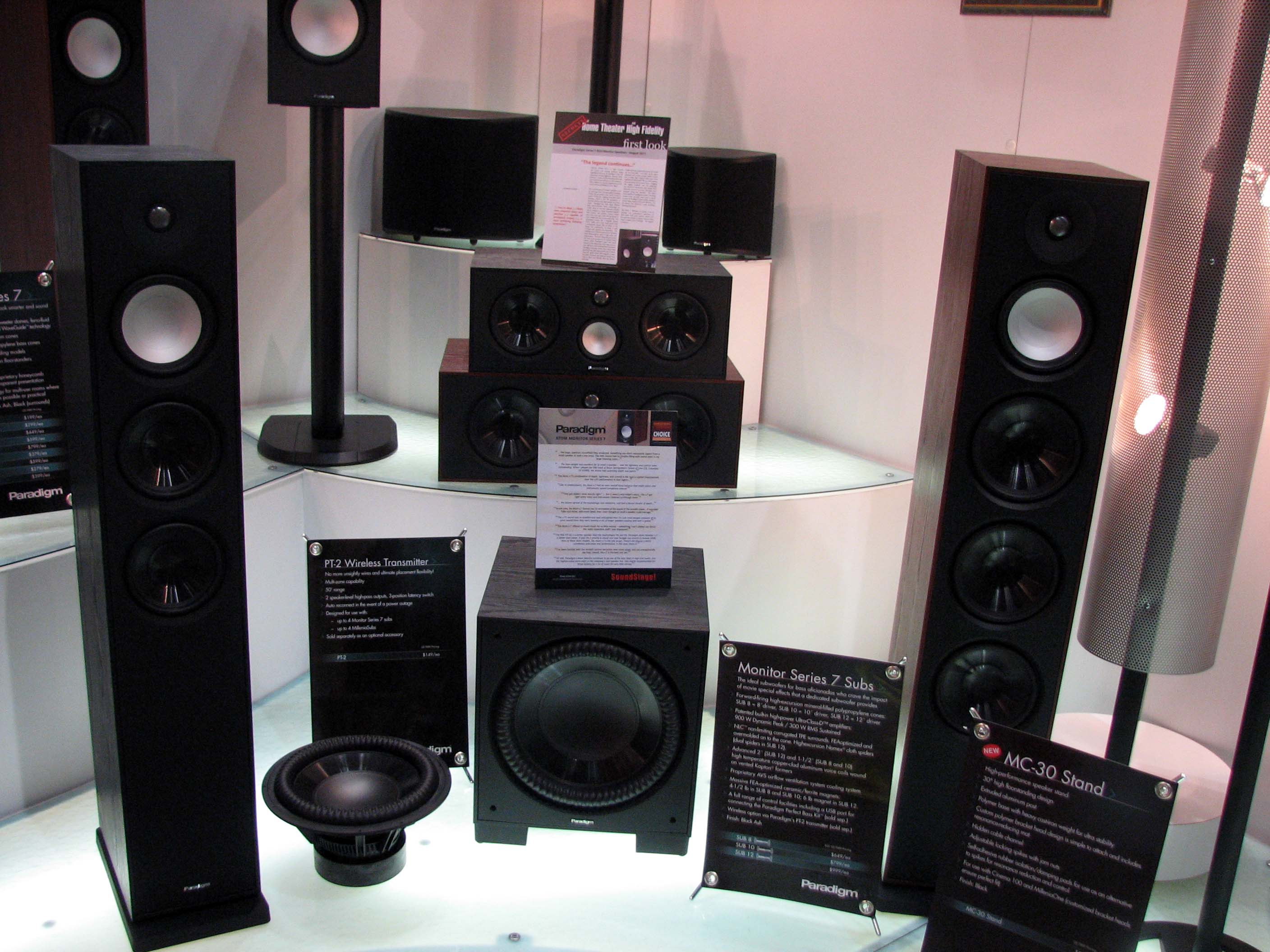 Paradigm Monitor 7 Loudspeaker Series Preview Audioholics