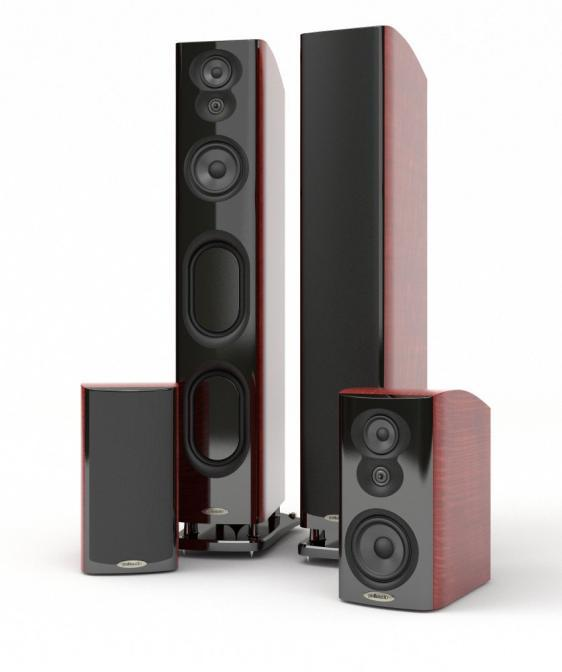 polk audio lsim 707 flagship floorstanding speakers first look rh audioholics com
