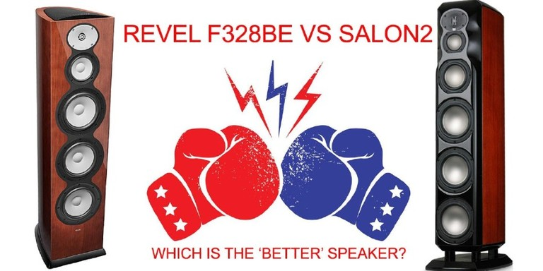Revel F328Be Vs Salon2
