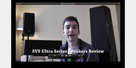 SVS Ultra Series Floorstanding Speaker Review