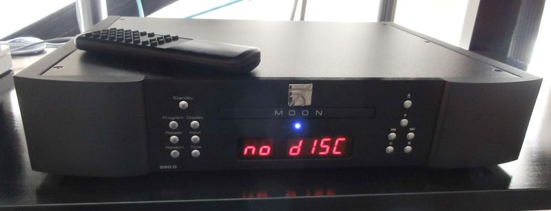 Digital >> Moon Neo 260 D CD Transport Full Screen Image | Audioholics
