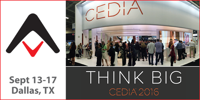 CEDIA 2016 Expo Show Coverage Page
