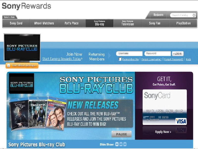 Sony+Rewards