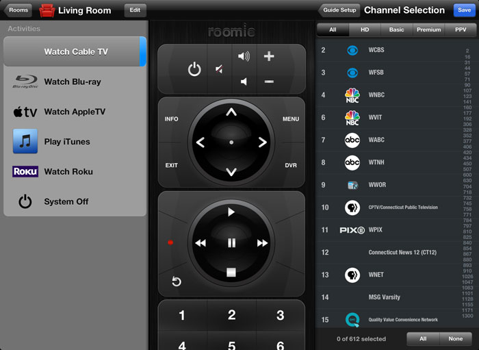 Roomie Remote Review An Ios Remote That Can Do Almost